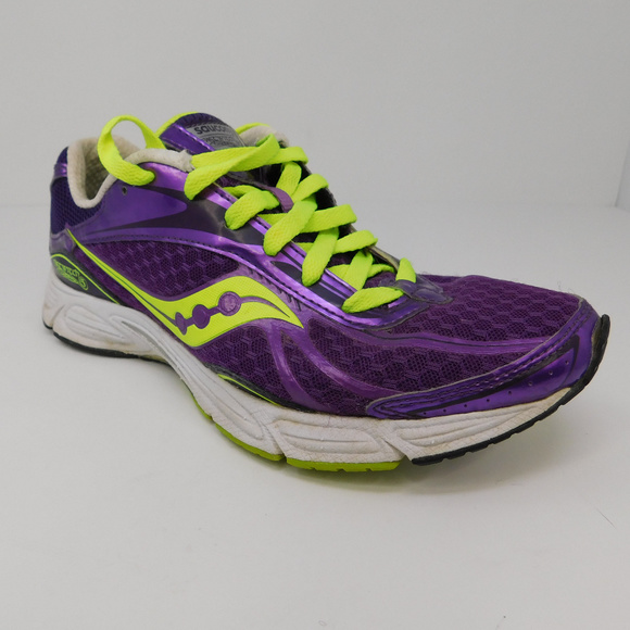 Saucony Fastwitch 4 Lime Green Running Shoes Women's Size 9.5